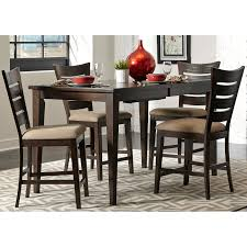 counter height gathering table liberty furniture flora counter height gathering table hayneedle