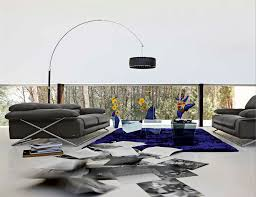 furniture stunning roche bobois furniture with blue rug and glass