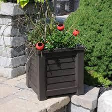 concrete planters for sale fiberglass planters pots u0026 planters the home depot