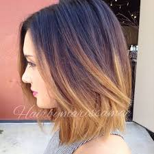 medium length hair with ombre highlights 27 cute hair color for short hair 2016 digihairstyles com