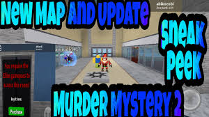 Roblox Maps New Map And Sneak Peeks Of Murder Mystery 2 Roblox Youtube