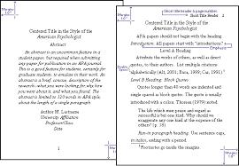 apa format notes apa research style crib sheet