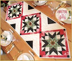 downton christmas star table runner christmas in july with