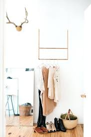 Bedroom Wall Clothes Rack Wall Mounted Clothing Rack Storage Simplified Building Kee Klamp