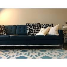 modway loft fabric sofa free shipping today overstock com