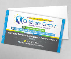 childcare business cards kick solutions web design firm digital marketing firm