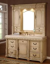 remarkable antique bathroom vanities with hutch including solid