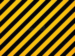 imagenes en negras rayas diagonales amarillas y negras del peligro stock de ilustración