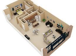 luxury apartment plans 1 bedroom 1 bath floor plan of property cobbler square loft