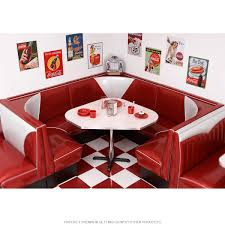 Retro Kitchen Table And Chairs For Sale by Retro Corner Diner Booth Sets Retro Furniture Retroplanet Com