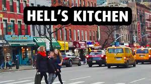 Urban Kitchen Nyc Hell U0027s Kitchen A Trendy Neighborhood In New York City Youtube