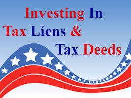 buying tax lien certificate or tax deed sales online as investment