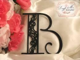 b cake topper damask cake topper damask wedding