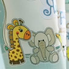 Boys Drapes Aliexpress Com Buy Cartoon Blue Window Curtains For Children
