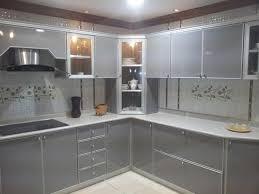 prix element de cuisine decore de cuisine avec placards en aluminium avec photo decoration