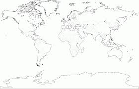 World Map Blank Blank World Map Best Photos Of Printable A Size Outline