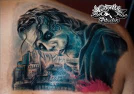 joker tattoo by newagetattoo on deviantart