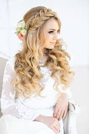 wedding hair barrel curls wedding hairstyles curls wedding hair