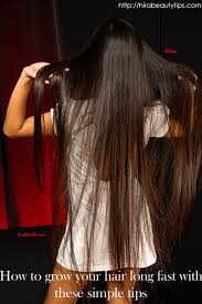 hairstyles to will increase hair growth how to grow your hair long fast with these simple tips