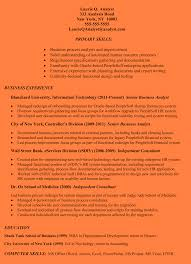 Example Of Business Analyst Resume 100 Resume Samples Business Analyst Entry Level Resume