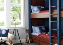 Modern Bunk Bed Ideas For Small Bedrooms - Kids room with bunk bed