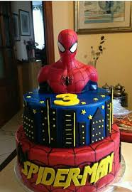 25 cake spiderman ideas spiderman birthday
