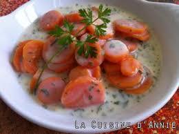 que cuisiner avec des carottes recette carottes à la sauce béchamel la cuisine familiale un