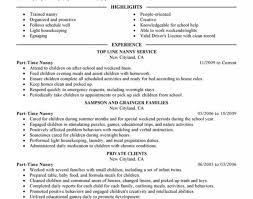 time resume templates part time resume template new resume part time resume