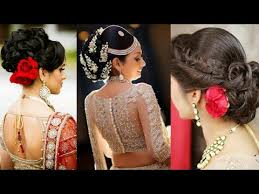 indian hairstyles engagement indian bridal hairstyles ideas for engagement reception