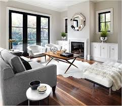 grey black and white living room should you install gray wood floors maria killam the true