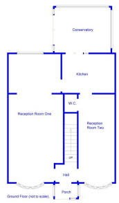 Msg Floor Plan 3 Bedroom Semi Detached House For Sale In Southam Close Hall