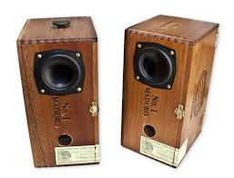 Coolest Speakers Cigar Box Desk Top Speakers The Coolector