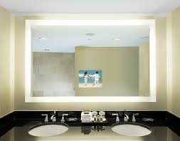 electric mirror silhouette lighted tv mirror avail in multiple