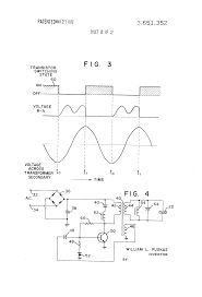 Cl 2 Transformer Wiring Diagram Patent Us3651352 Oscillatory Circuit For Ultrasonic Cleaning