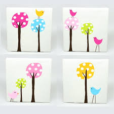 wall arts childrens wall art ideas kids canvas art set of 4 childrens wall art ideas kids canvas art set of 4 polka dot tree birds nursery childrens wall prints 8999 nursery wall art stickers ebay nursery wall art