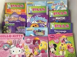 easter egg decorating kits easter egg decorating color dye kit you choose disney princess