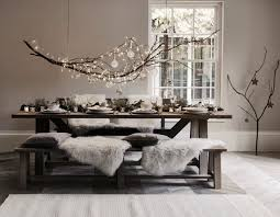 Christmas Table Decoration Ideas by Best 25 Christmas Interiors Ideas On Pinterest Scandinavian