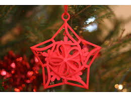merry bright 3d printed ornaments shapeways magazine