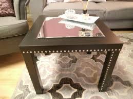 Wohnzimmertisch Versch Ern Ikea Lack Tisch Streichen Top Befestigt Zunchst Die Erste Der