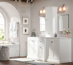 Bathroom Cabinets New Recessed Medicine Cabinets With Lights Kensington Recessed Medicine Cabinet Pottery Barn