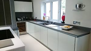 ideas for kitchen worktops grey krion bright concrete white krion white worktop