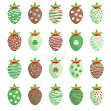 s day strawberries st s day strawberries stock vector illustration of