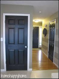 interior design new painted black interior doors decor color