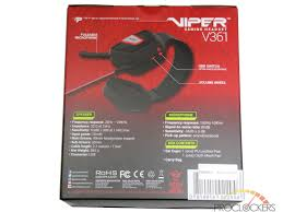 patriot viper v361 7 1 virtual surround gaming headset review