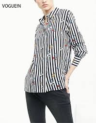 black and white striped blouse vogue n womens floral black white striped floral print