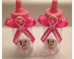 minnie mouse baby shower favors minnie baby shower etsy