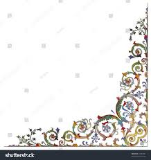 baroque ornamentation vector stock vector 23382481