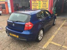 2007 bmw 118d 2 0d m sport diesel 6 speed manual blue half