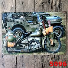 online get cheap vintage military metal signs aliexpress com