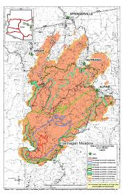 Wildfire Perimeter Map by Wallow Fire Map Nm Fire Info